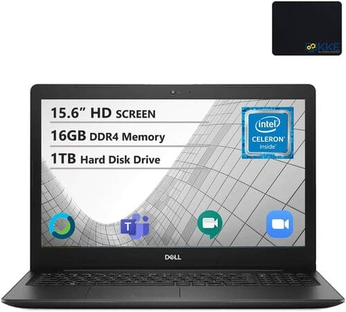 5 Dell Inspiron 15 6 HD Laptop